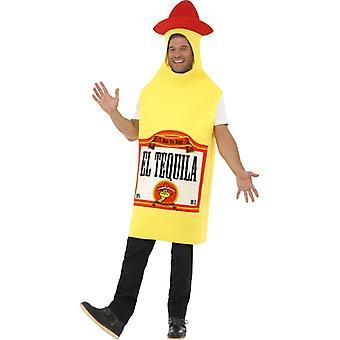 Tequilakostüm Flasche Mexico Party Schnaps Tequila Kostüm Herren