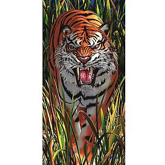Cheatwell Games Royce 3D Wall & Door Poster - Tiger