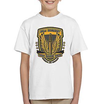 22 regiment insignier torsk 4 moderne krigsførelse børne T-Shirt