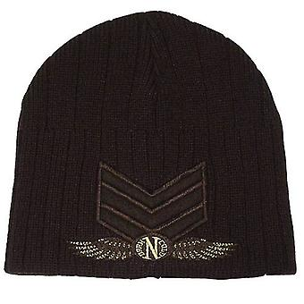 Dark n Cold Army Beanie Chocolate Brown