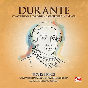 Durante - Concerto 1 orgel & Orch F Min [CD] USA import