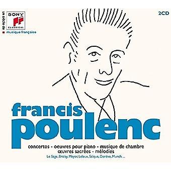 Francis Poulenc - FN Siecle De Musique Francaise [CD] USA import
