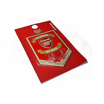 Arsenal FC Official Football Metal Key Hanging Sign