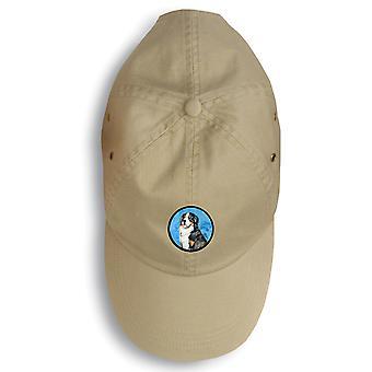 Carolines Treasures  LH9379BU-156 Bernese Mountain Dog Baseball Cap