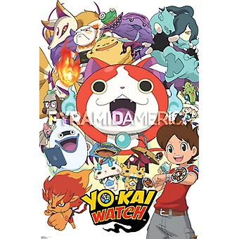 Yo-Kai Watch - Cast Plakat Poster drucken