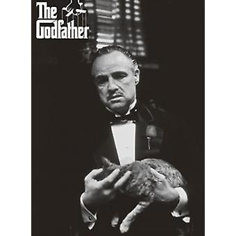 The Godfather - Cat Poster Poster Print