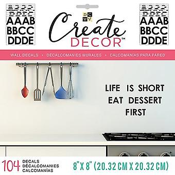 DCWV Create Decor Removable Wall Decals 8
