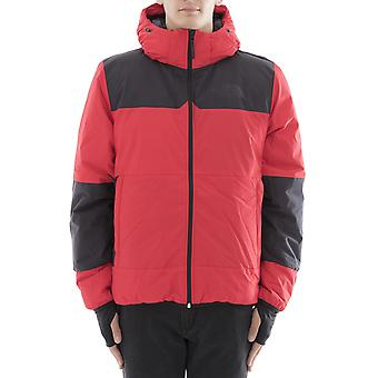 The north face men's A33HQ682 red polyester jacket