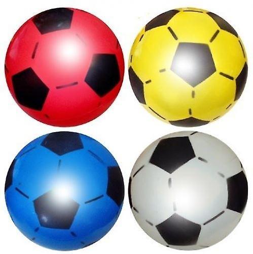 50 Uninflated Plastic Footballs 22.5cm