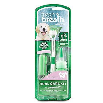 Tropiclean Fresh Breath Puppy Oral Care Kit