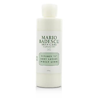 Mario Badescu Vitamin E Body Lotion (Wheat Germ) - For All Skin Types - 177ml/6oz