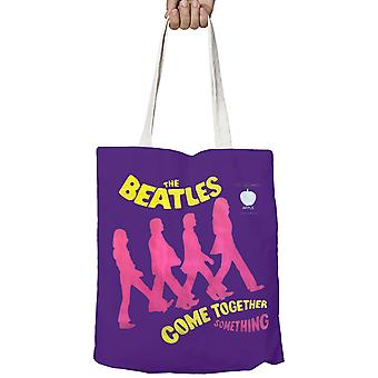 The Beatles Tote Bag Come Together band logo Official New zip top 38cm x 38cm
