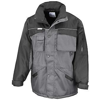 Result Mens Heavy Duty Combo Work Windproof Coat Jacket