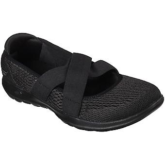Skechers Womens/Ladies GOwalk Lite Cutesy Slip On Casual Shoes