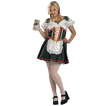 Beer Maid Garden Girl Oktoberfest German Bavarian Women Costume Plus