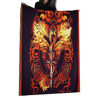 Wild Star - Dragon Flame Blade - Fleece/Throw/Tapestry