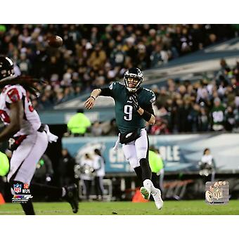 Stampa foto gioco di Nick Foles 2017 NFC Divisional Playoff
