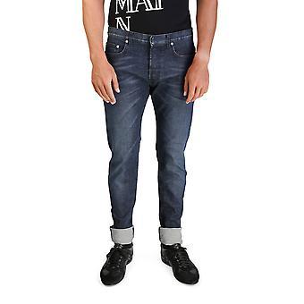 Dior Homme mäns Bleu Marine Slim Fit Denim Jeans byxor blå