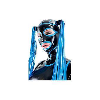 Vixen Deluxe maschera in lattice di gomma cofano