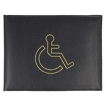 Lorenz niepełnosprawnych odznaka posiadacz 1498 - fioletowy syntetyczne - jeden rozmiar