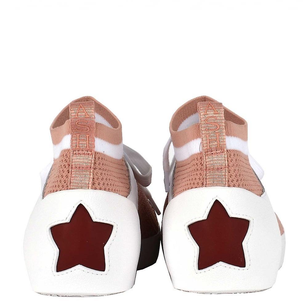 Ash Schuhe Nolita Pulver & weiß stricken Trainer