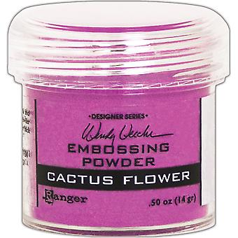 Wendy Vecchi Embossing Powder .63Oz-Cactus Flower