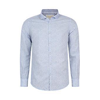 Fabio Giovanni Rizzuto Shirt - Luxurious Italian Linen & Cotton Blend with Soft Cutaway Collar