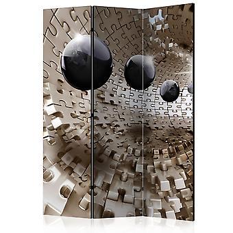 Paravent 3 volets - Golden Jigsaw [Room Dividers]