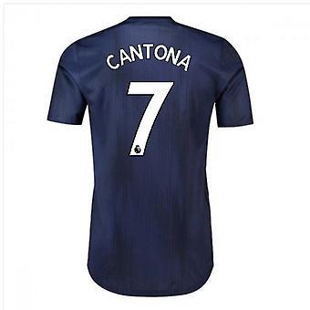 2018-2019 Man Utd Adidas Third Adi Zero Football Shirt (Cantona 7)