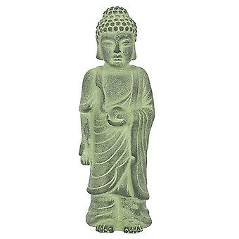 Something Different Green Terracotta Standing Buddha Ornament