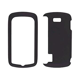 Wireless Solutions Soft Touch Snap-On Case for LG Genesis - Black