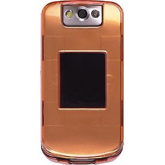 Trådlösa lösningar Snap-On fall för BlackBerry 8230 Pearl Flip - Tangerine