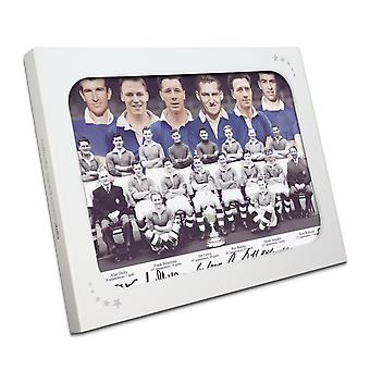 Chelsea 1955 Team Signed Photograph In Gift Box