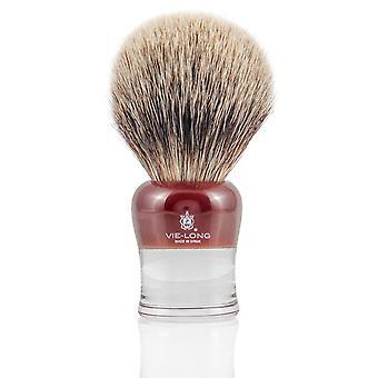 Vie-Long 16655 White Badger Shaving Brush