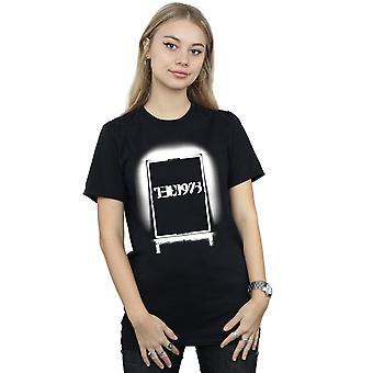 1975 kvinnenes svart Tour kjæreste passer t-skjorte
