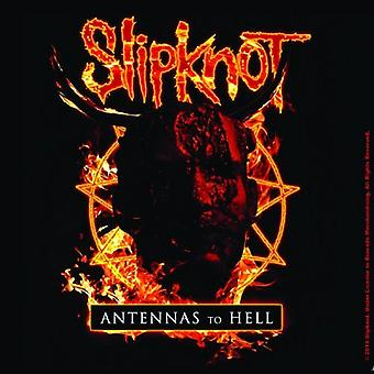 Slipknot Coaster Antennas to hell new Official 9.5cm x 9.5cm Cork single drink