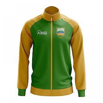 Karakalpakstan konceptet fotboll Track Jacket (grön)