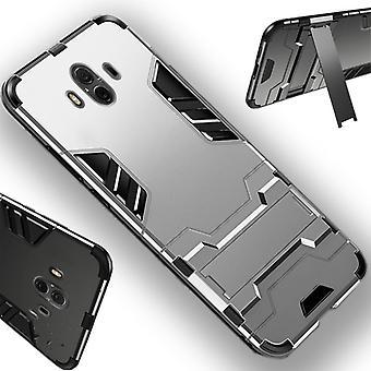 For Samsung Galaxy J4 pluss J415F metal utendørs stil sølv veske coveret beskyttelse nye