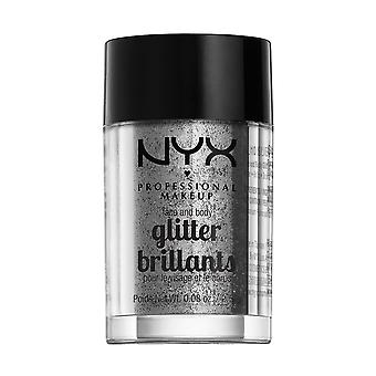 NYX Prof. MAKEUP Face & Body Glitter-10 Silver 2.5 g