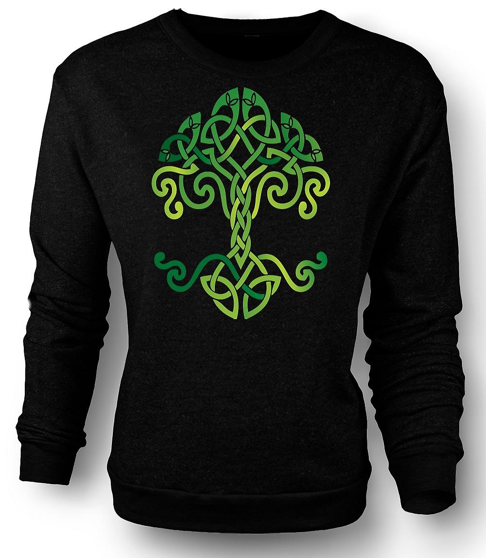 Symbole celtique Tribal Tree Of Life Mens Sweatshirt
