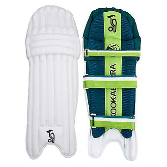 Kookaburra 2019 Kahuna 4.0 Cricket Batting Pads Leg Guards White/Green