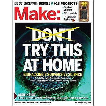 Make - Volume 56 by Mike Senese - 9781680453270 Book