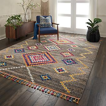 Nomad Rugs Nmd05 By Nourison In Grey