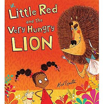 Roja y el León muy hambriento