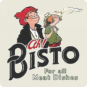 Bisto For All Meat Dishes drinks mat / coaster     (hb)