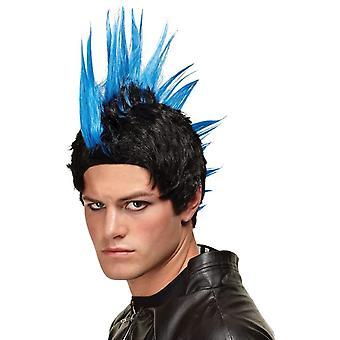 Blå parykk For Punkrocker