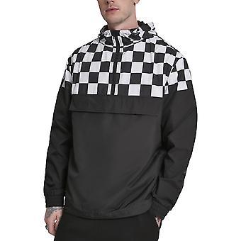 Urban classics - CHESS pull over jacket black
