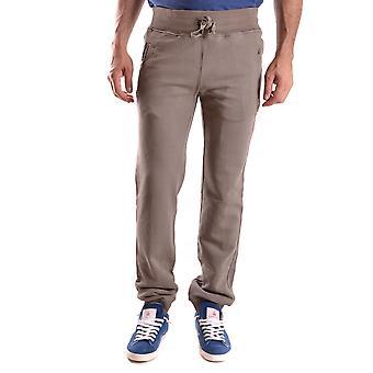 Daniele Alessandrini Grey Cotton Pants