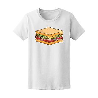 Sandwich Tee mannen bereid-beeld door Shutterstock