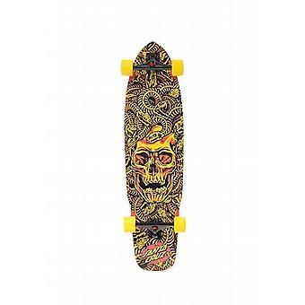 Santa Cruz Skateboard Longboard Medusa Flex Tech, 9.7 x 37.7 Zoll, SANLOBMEFLTE